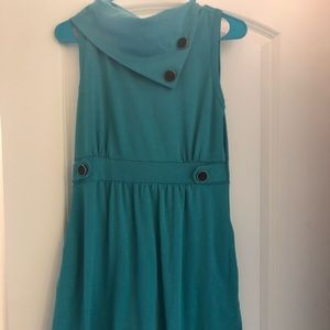 Emerald green ModCloth dress